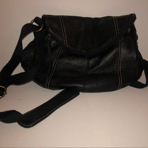 The Sak Crossbody Bag Black Leather